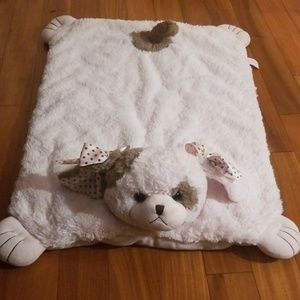 Bearington Baby Collection puppy belly blanket